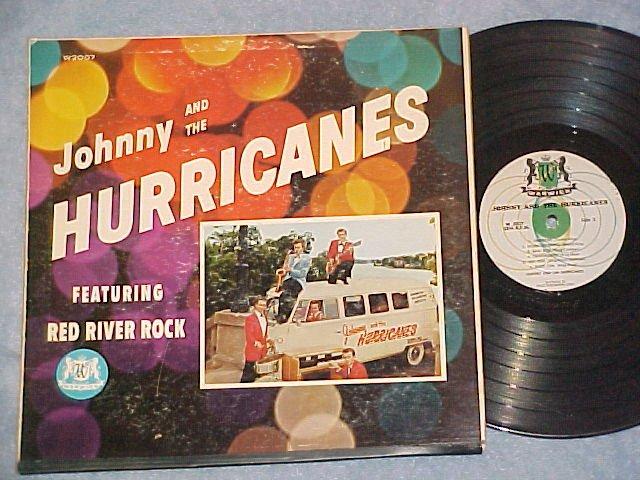 JOHNNY AND THE HURRICANES--Mono 1959 LP--Warwick W-2007