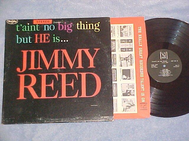 JIMMY REED-T'AINT NO BIG THING-NM/VG+LP-Solid Black Lbl