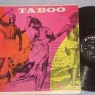 TABOO-VG++/VG+ 1959 LP-Native African Music-Riviera--#2