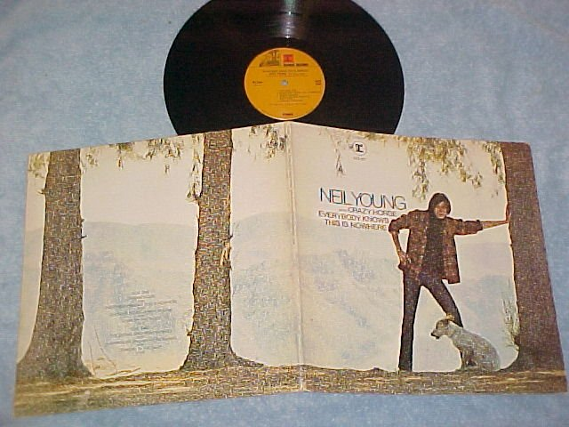 NEIL YOUNG/CRAZY HORSE--EVERYBODY KNOWS THIS IS NOWHERE