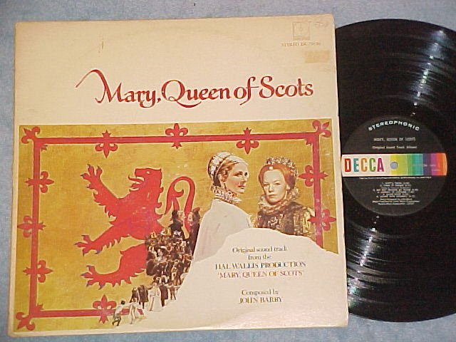 MARY, QUEEN OF SCOTS--VG+ 1971 Sdk LP--Vanessa Redgrave