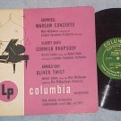 "OLIVER TWIST (Bax)/WARSAW CONCERTO-10"" 1950 LP-Columbia"