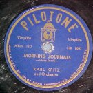78--KARL KRITZ--MORNING JOURNALS--Pilotone S45-5087/8