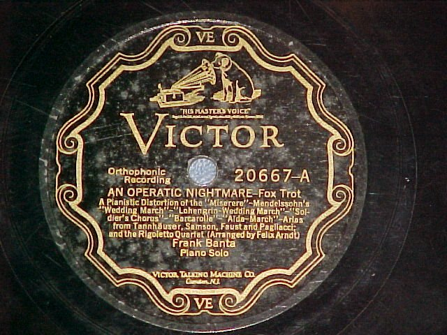 78-FRANK BANTA-AN OPERATIC NIGHTMARE/NOLA--Victor 20667