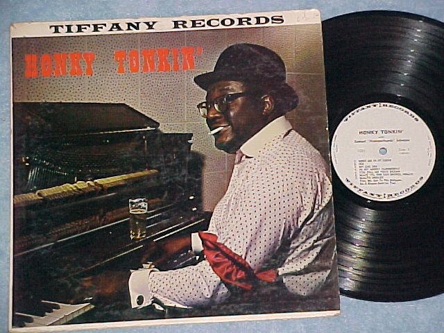 SAMUEL HAMMERHANDS JOHNSON-HONKY TONKIN-1960 Tiffany LP