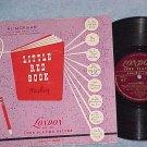 "AL MORGAN-LITTLE RED BOOK--10"" 1951 LP--London APB-1003"