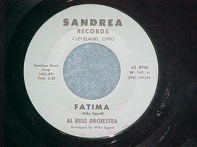 45-AL RUSS ORCHESTRA-FATIMA-Sandrea Records-Private-VG+
