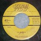 45-TITO RODRIGUEZ-LA MUNECA/COWBOY MAMBO-1953--Tico 167