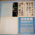 LILLIAN GOODMAN-I SAY YOU CAN SING!-1961 LP w/Book, Pgs