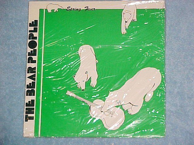 "THE BEAR PEOPLE-SPRING FEVER-10"" Mint Sealed Private LP"