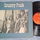 COUNTRY FUNK--Self Titled 1970 LP--Polydor 24-4020