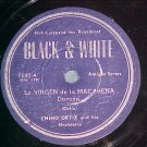 78--CHINO ORTIZ AND HIS ORCHESTRA--Black & White 7502