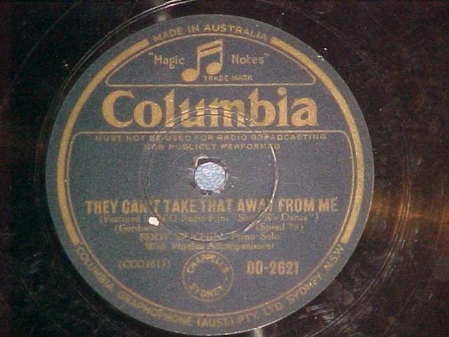 Australia 78--EDDY DUCHIN--Columbia DO-2621--Piano