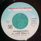 45-JO ANNE GARRETT-UNFORGETTABLE-'70-Chess2097-Promo-NM
