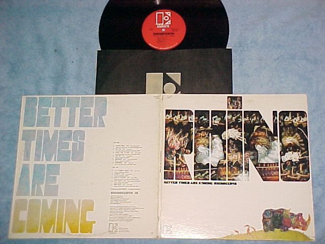 RHINOCEROS--BETTER TIMES ARE COMING--NM/VG++ 1970 LP