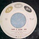 45--FAY DE WITT--TAKE IT SLOW, JOE--'50's--GNP-128