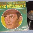 HANK WILLIAMS-MOVIN ON-LUKE THE DRIFTER-Cap Rcd Club LP