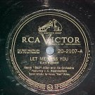 78-HENRY RED ALLEN--LET ME MISS YOU--RCA Victor 20-2107