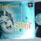 GOGI GRANT--SHOUT--VG++ 1960 LP--Liberty--Foil Cover