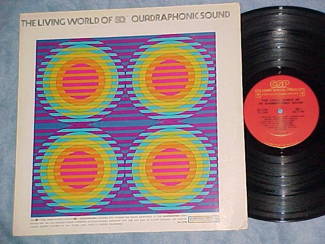 LIVING WORLD OF SQ QUADRAPHONIC SOUND--NM/VG+ Quad LP