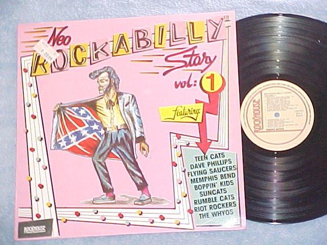 NEO-ROCKABILLY STORY-Vol 1-NM/VG++ 1987 Dutch Import LP