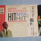 GENE McDANIELS--HIT AFTER HIT--Stereo 1962 LP w/Sticker