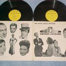FRED STEELE--SINGING LESSONS--'50's Dbl LP--Ama label