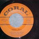 45--COZY COLE--TOPSY--Parts 1&2--1964--Coral 65584--VG+