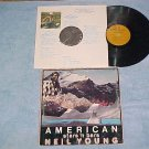 NEIL YOUNG-AMERICAN STARS 'N BARS--VG+ 1977 LP--Reprise