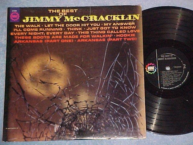 THE BEST OF JIMMY McCRACKLIN--VG+ 1967 LP--Minit 40009