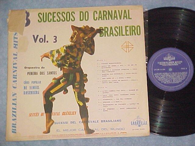 23 SUCESSOS DO CARNAVAL BRASILEIRO--Vol. 3--Brazil LP