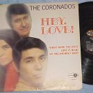 THE CORONADOS-HEY, LOVE!-1969 LP-Jubilee 8022-Autograph