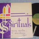 THE MACEDONIA CHOIR--SPIRITUALS--Mid-60s LP on Kingsway