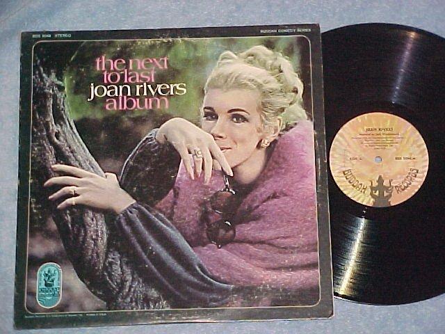 THE NEXT TO LAST JOAN RIVERS ALBUM ~AUTOGRAPH~ 1970 LP