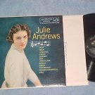 JULIE ANDREWS SINGS-NM/VG+ 1958 LP--RCA Victor LPM-1681