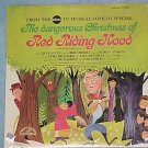 DANGEROUS CHRISTMAS OF RED RIDING HOOD-Sealed '65 TV LP