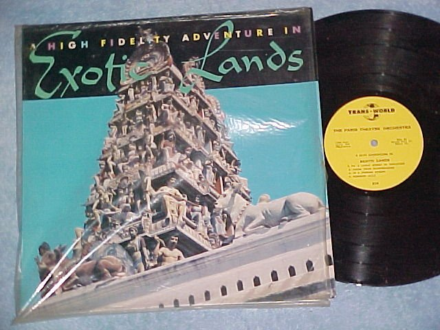 EXOTIC LANDS-VG++/VG+ '57 LP-Trans World 210-Asia Music