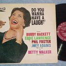 DO YOU WANNA HAVE A LAUGH?-Rare 1961 Comedy LP on Coral
