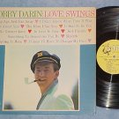 "BOBBY DARIN--LOVE SWINGS--NM 1961 LP--Atco ""harp"" label"
