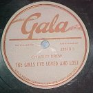 78-CHARLEY DREW-THE GIRLS I'VE LOVED AND LOST-Gala-VG++
