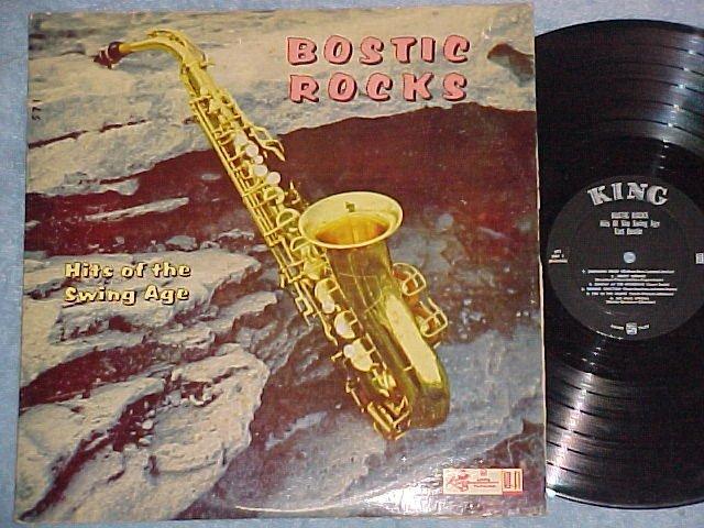 """EARL BOSTIC-BOSTIC ROCKS-VG+ 1958 LP-King 571-2"""" """"KING"""""""