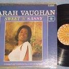 SARAH VAUGHAN--SWEET 'N' SASSY--VG/VG+ Stereo 1964 LP