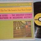 GENE ESTES-GREATEST STEREO VIBRAPHONE IN HISTORY-'60 LP