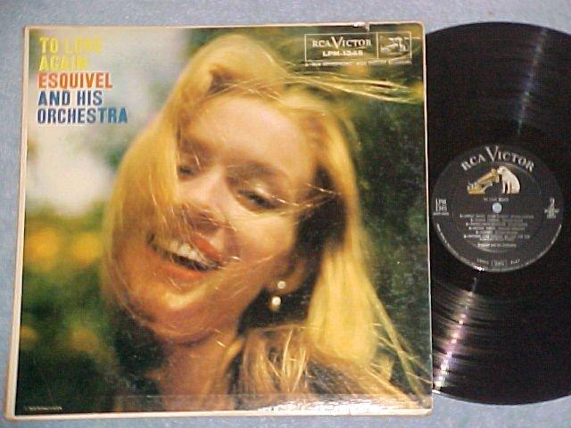 ESQUIVEL--TO LOVE AGAIN--VG+ 1957 LP--RCA LPM-1345