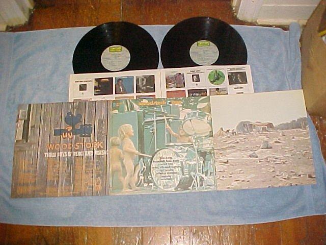 WOODSTOCK TWO--NM Rock Sdk Double LP--Jimi Hendrix,CSNY
