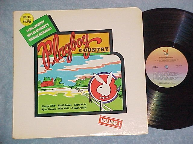 PLAYBOY COUNTRY--Vol. 1--NM 1976 LP on Playboy Records