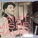 FATS WALLER--AIN'T MISBEHAVIN'--VG++ 1956 LP--RCA 1246