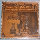 FATS WALLER--SOLOS FROM PIANO ROLLS--Sealed Biograph LP