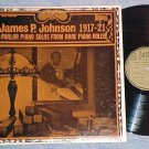 JAMES P JOHNSON--SOLOS FROM PIANO ROLLS--NM Biograph LP
