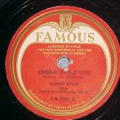 78-TOMMY RYAN-EMBRACEABLE YOU/STAR DUST-Famous 7001-VG+